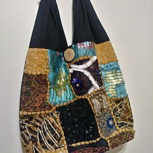 Shoulder fabric bag